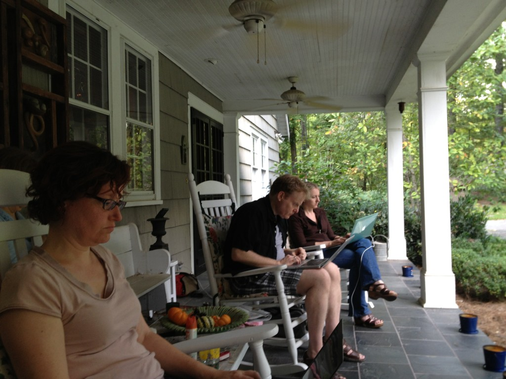Writing Porch
