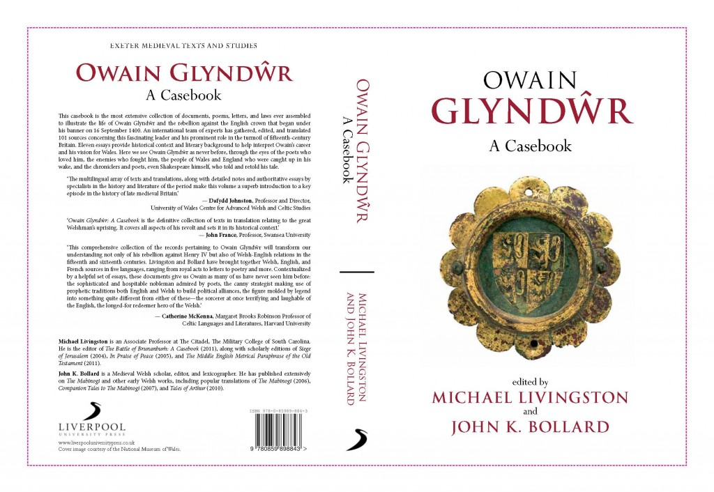 Cover for the Owain Glyndwr Casebook.