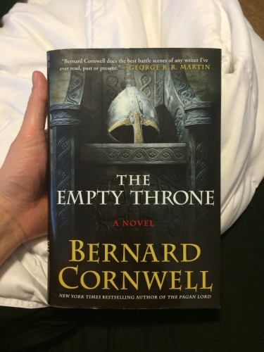Cornwell's Empty Throne
